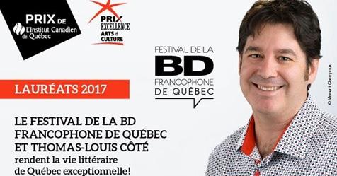 La BD québécoise reçoit les honneurs de L'Institut Canadien de Québec