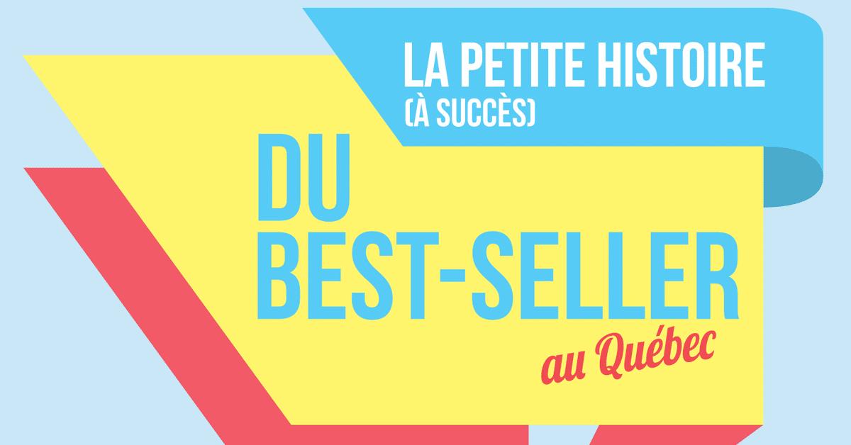 La petite histoire (à succès) du best-seller au Québec