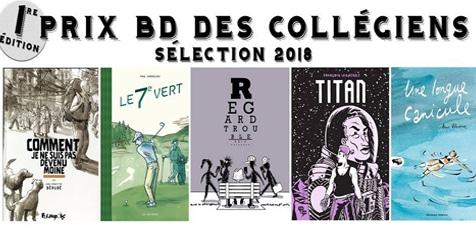 Première édition du Prix BD des collégiens