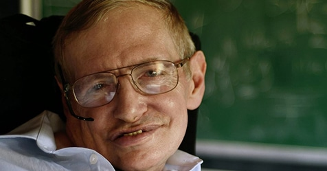 Mort de l'astrophysicien Stephen Hawking