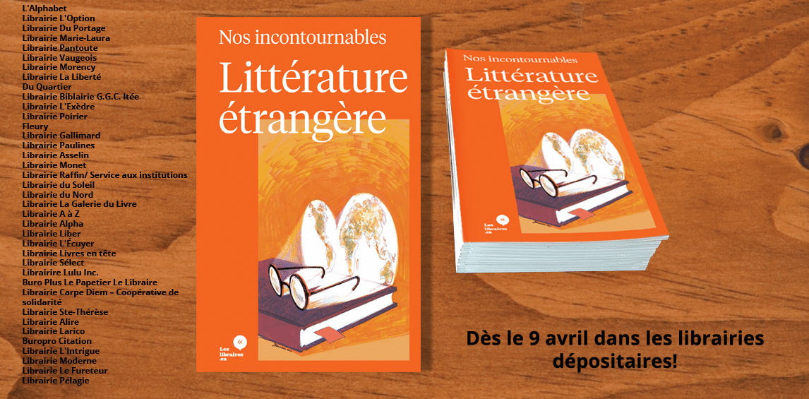 Le carnet de nos incontournables de la littérature étrangère