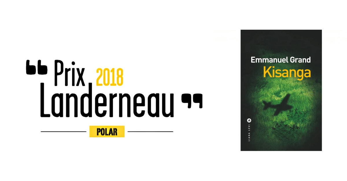 Emmanuel Grand reçoit le prix Landerneau Polar