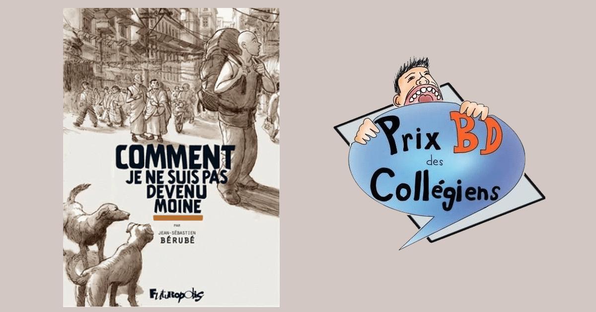 Jean-Sébastien Bérubé remporte le premier prix BD des collégiens