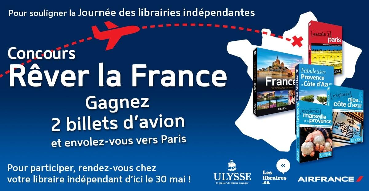 Concours Rêver la France