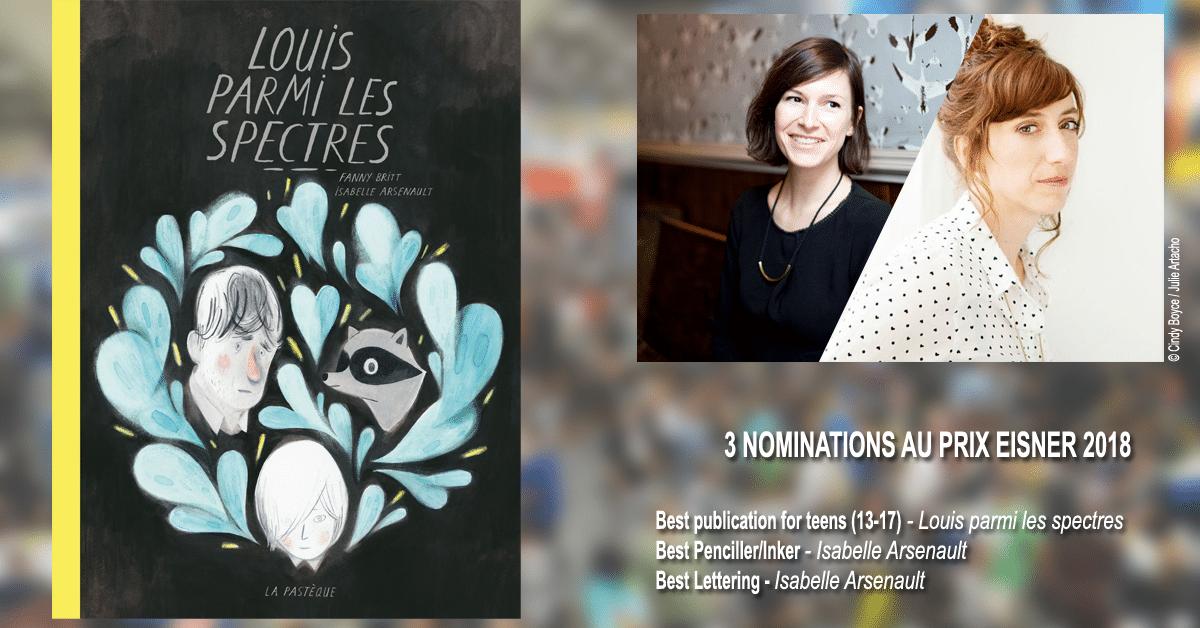 Les prix Eisner font honneur à Isabelle Arsenault, Fanny Britt et au Québec