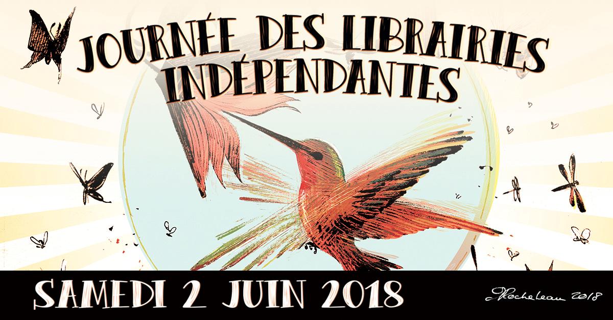 Samedi 2 juin : Journée des librairies indépendantes