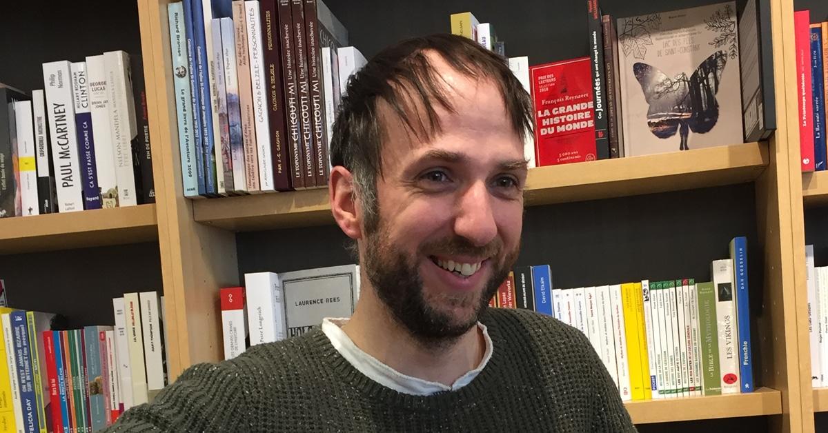 Olivier Boisvert, libraire d'exception