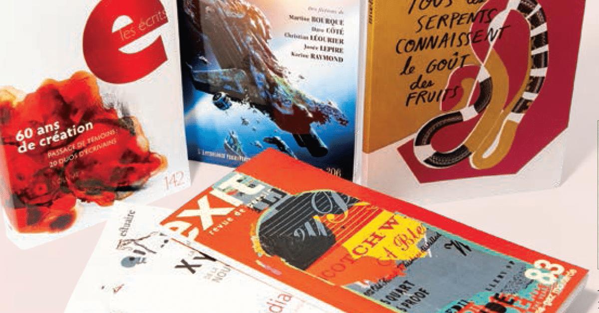Zones d'influence : Les revues de création littéraire