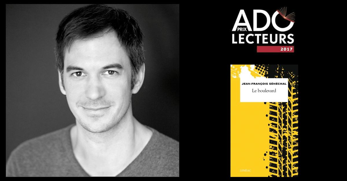 Jean-François Sénéchal gratifié du prix Adolecteurs