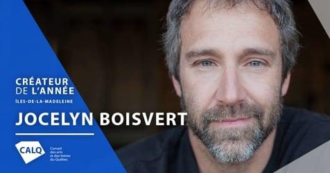 Jocelyn Boisvert, créateur de l'année aux Îles-de-la-Madeleine