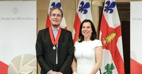 L'éditeur Pascal Assathiany reçu chevalier de l'Ordre de Montréal