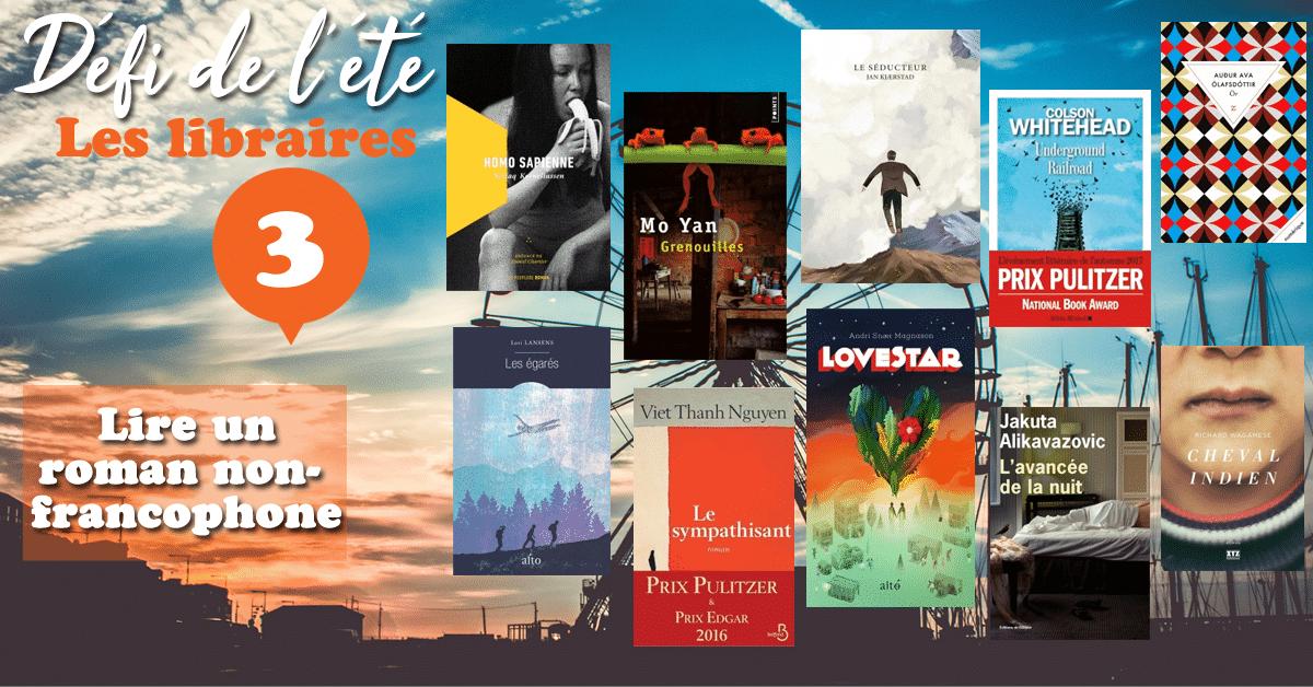 [DÉFI DE L'ÉTÉ] n°3 : Lire un roman non-francophone