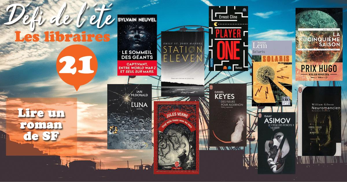 [DÉFI DE L'ÉTÉ] n°21 : Lire un roman de SF