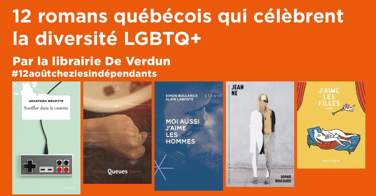 12 romans québécois qui célèbrent la diversité LGBTQ+
