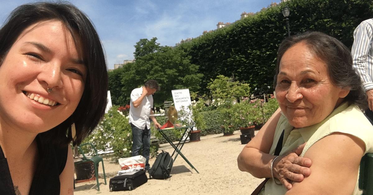 Natasha Kanapé Fontaine dans l'univers de Josephine Bacon : Un café en innu-aïmun