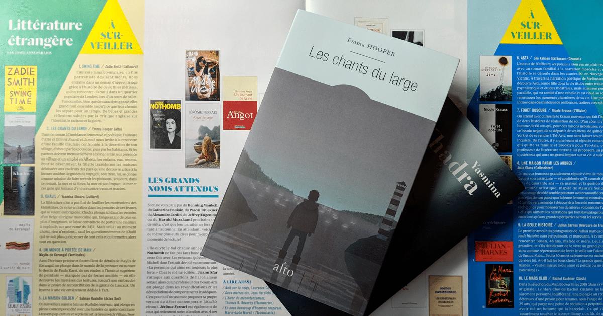 Votre rentrée littéraire 2018 : Littérature étrangère