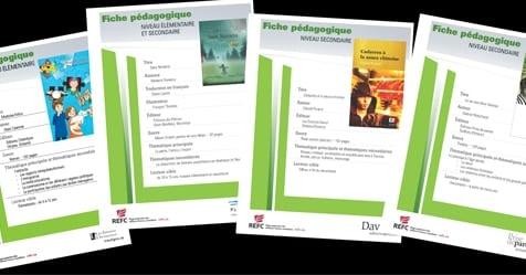 Des fiches pédagogiques pour les livres franco-canadiens