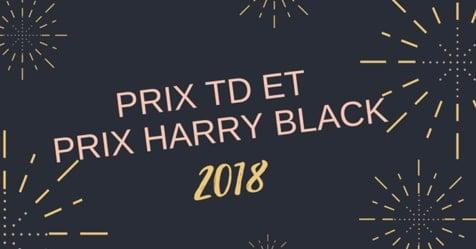 Les finalistes québécois du prix TD pour l'enfance et la jeunesse et du prix Harry Black 2018
