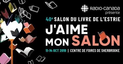 Dévoilement de la programmation du Salon du livre de l'Estrie 2018