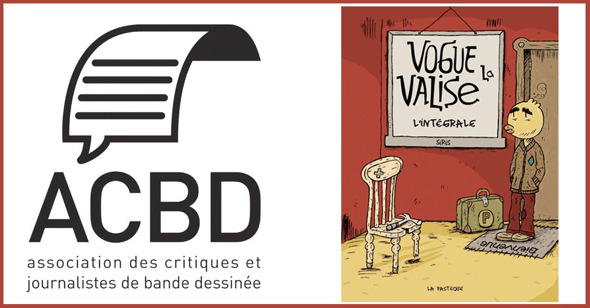 Prix de la critique ACBD de la bande dessinée québécoise 2018