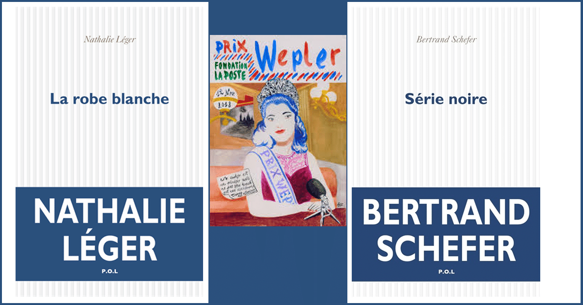 Lauréats du prix Wepler 2018