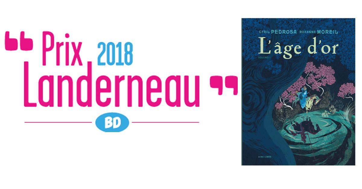 Lauréats du prix Landerneau BD 2018