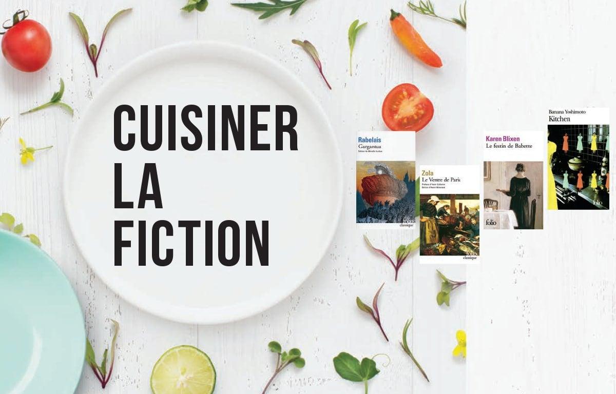 Cuisiner la fiction