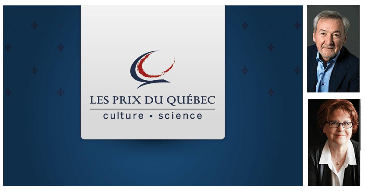 Des Prix du Québec remis à des acteurs importants du milieu littéraire