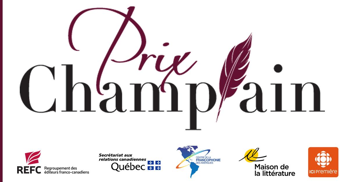 Quatre finalistes pour le prix Champlain 2019
