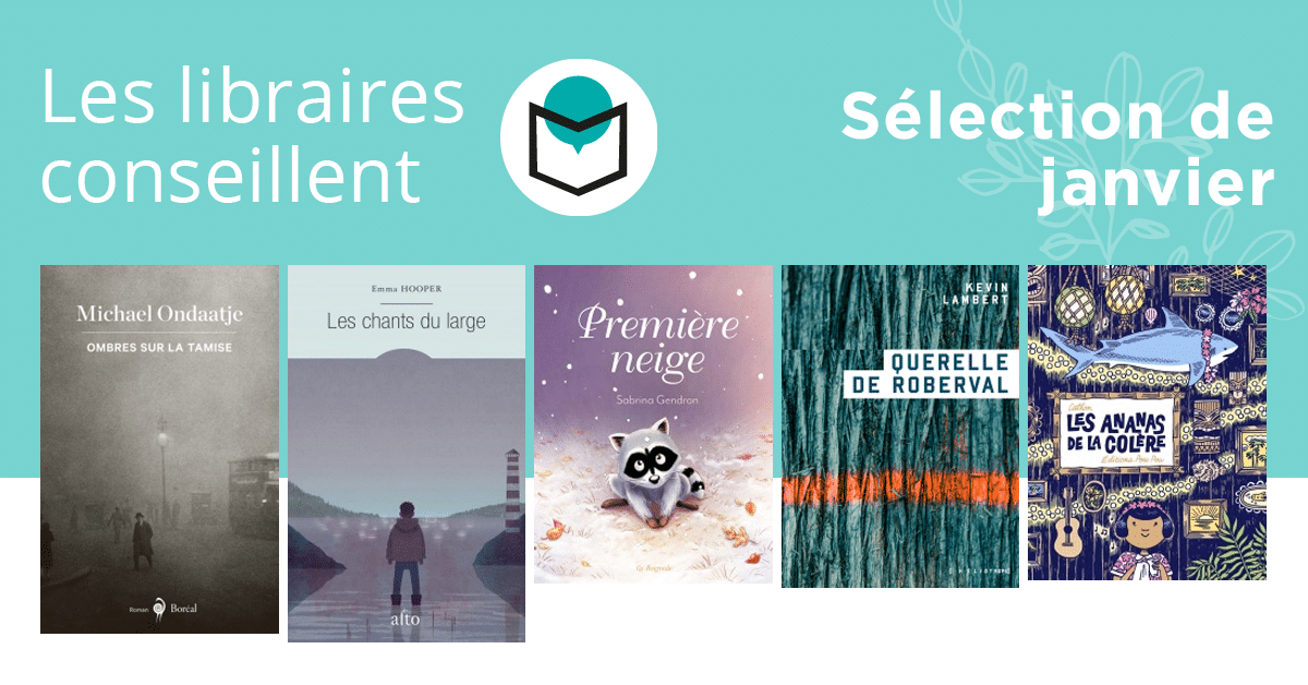 Les libraires conseillent : janvier 2019