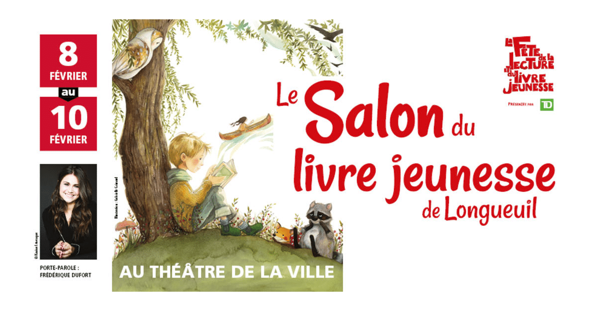 Salon du livre jeunesse de Longueuil