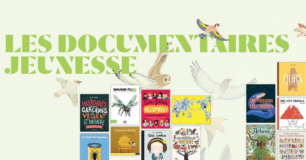 Les documentaires jeunesse : ouvrir ses horizons