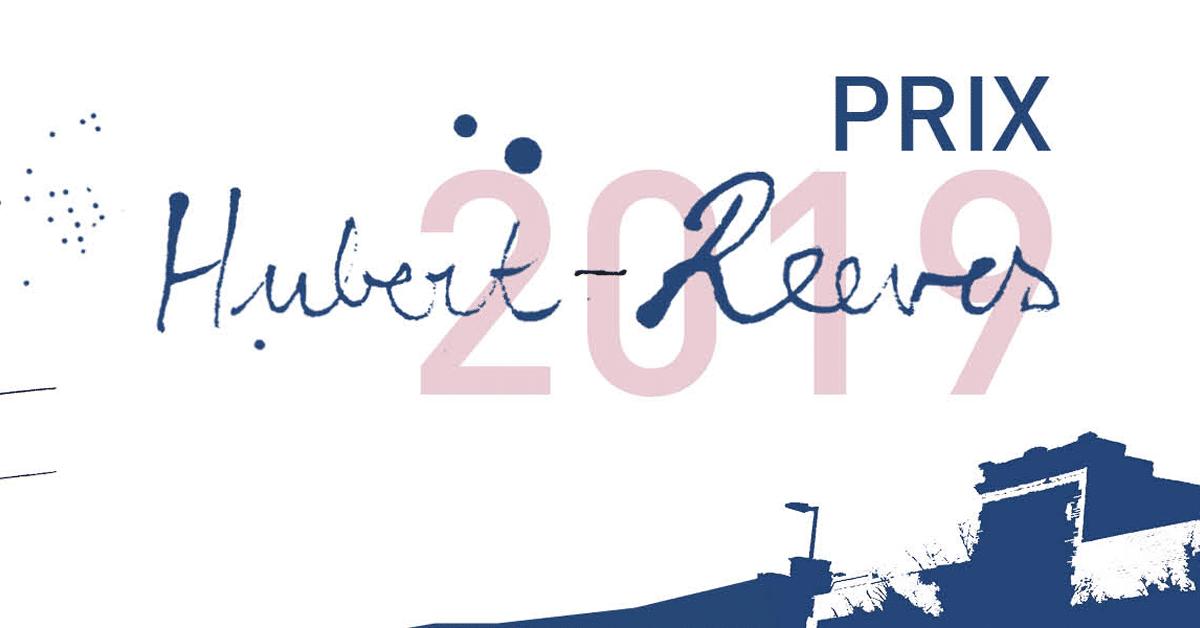 Les finalistes du prix Hubert-Reeves 2019