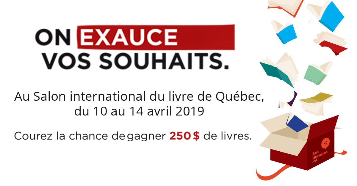 Les libraires au Salon international du livre de Québec 2019
