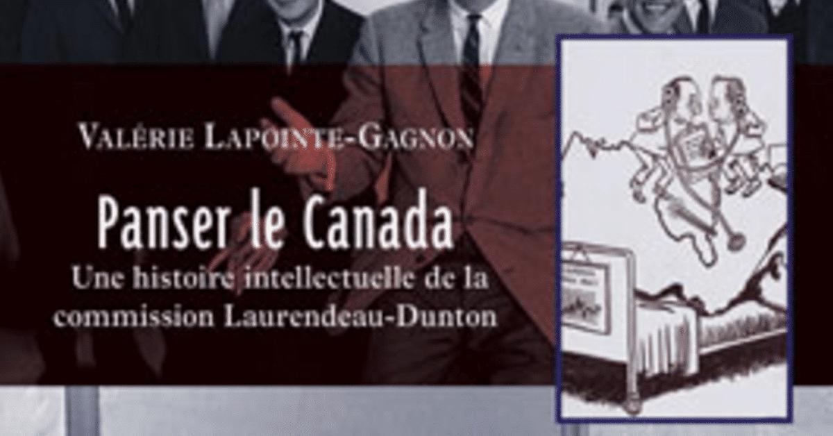 Un prix pour le livre Panser le Canada