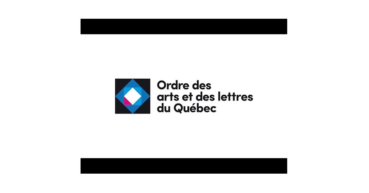 Les nouveaux membres de l'Ordre des arts et de la culture du Québec
