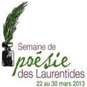 La semaine de poésie des Laurentides