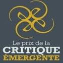 Prix de la critique émergente, 2e édition