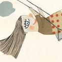 L'illustratrice Manon Gauthier à la Foire du livre pour enfants de Bologne