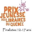Prix jeunesse des libraires 2014 : finalistes 12-17 ans