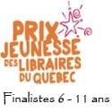 Prix jeunesse des libraires 2014 : finalistes 6-11 ans