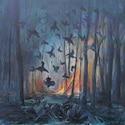 Une exposition inspirée du roman Il pleuvait des oiseaux