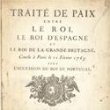 Le traité de Paris expliqué par Septentrion