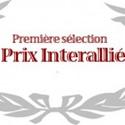 Le prix Interallié : première sélection