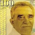 Gabriel Garcia Marquez sur les billets de banque