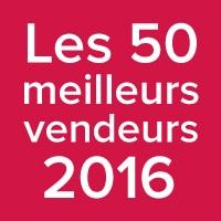Les 50 meilleurs vendeurs 2016 au Québec