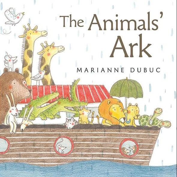 L'arche des animaux de Marianne Dubuc sélectionné dans une liste de recommandations américaine
