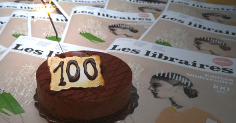 Compter jusqu'à cent : le 100e de la revue Les libraires!