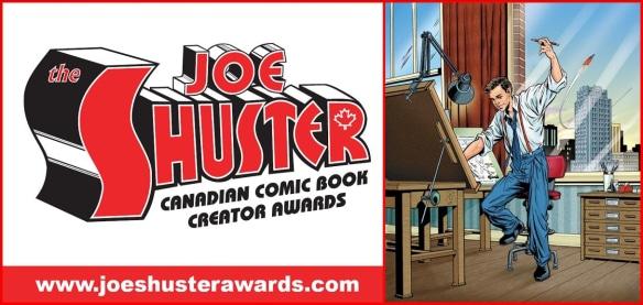 Les nominés du Joe Shuster 2017