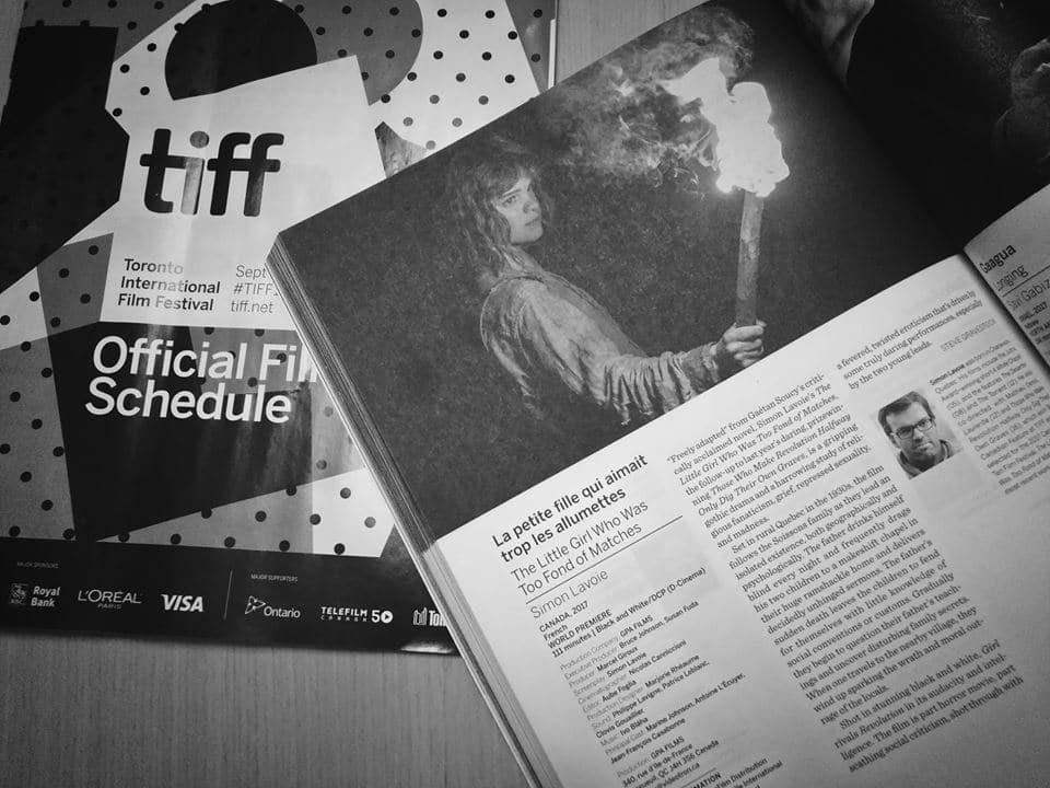 Première mondiale de La petite fille qui aimait trop les allumettes au TIFF